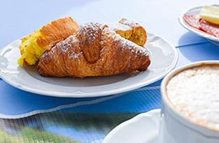 colazione hotel panoramico in Riviera Romagnola