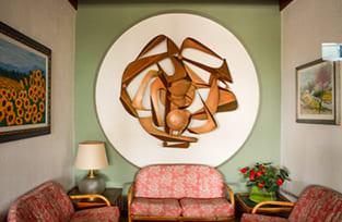 divanetti servizi hotel panoramico in Riviera Romagnola
